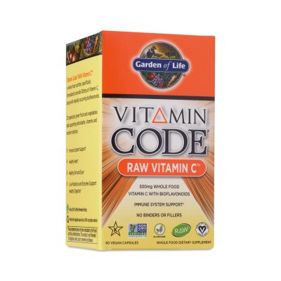 Vitamin Code, RAW Vitamin C, 500mg, 60k
