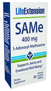 SAME, Lefe Exstension, 400mg, 30tab