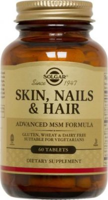 Skin, Hair and Nails 60tab