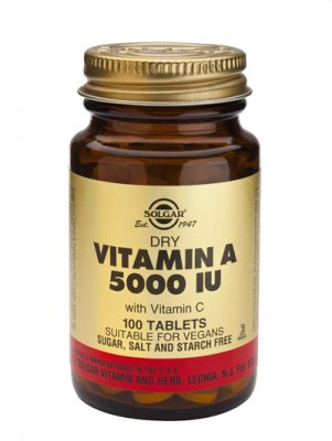 Vitamin A 5000IE 100tab