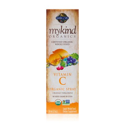 Mykind organics, vitamin C organic spray, Orange Tangerine, 58ml