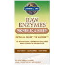 Raw Enzymes, Women 50 & wizer