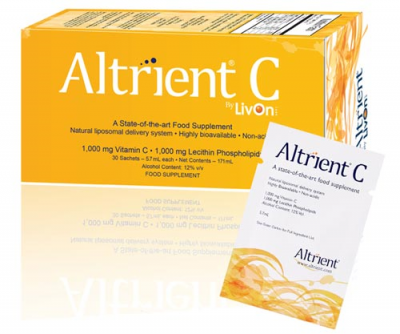 Altrient - Lypo Spheric C-vitamin 30 portionspåsar