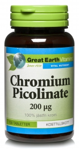 Chromium Picolinate 100tab