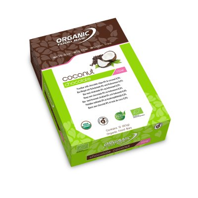 Chocolate Coconut Bar 50g EKO Vegan