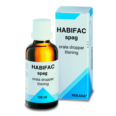 Habifac spag 100ml, Alpha Plus