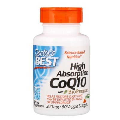 High Absorption CoQ10 200mg 60kap