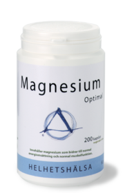 Magnesium Optimal 135mg, 200kap, Helhetshälsa