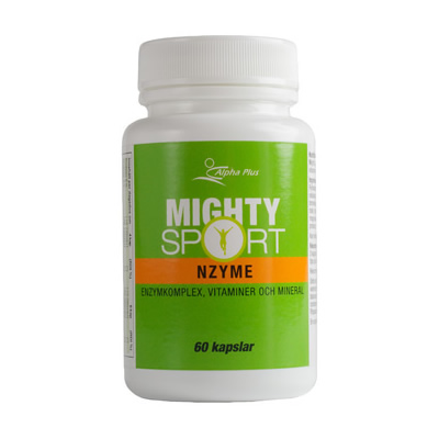 Mighty Sport Nzyme 60kap, Alpha Plus