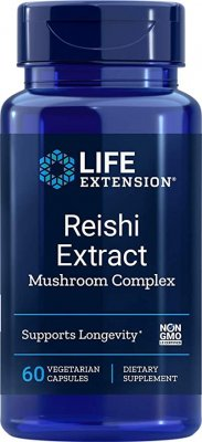 Reishi Extract Mushroom Complex, 60k, Life Extension