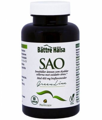 SuperAntiOxidant SAO 60kap