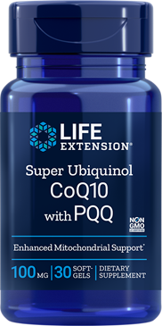 Super Ubiquinol CoQ10 with PQQ® 30 Softgels