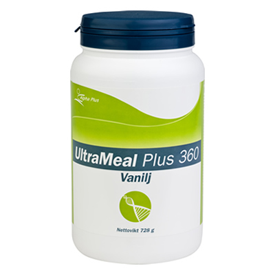 UltraMeal Plus 360 Vanilj, Alpha Plus