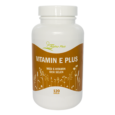 Vitamin E Plus 120 kap