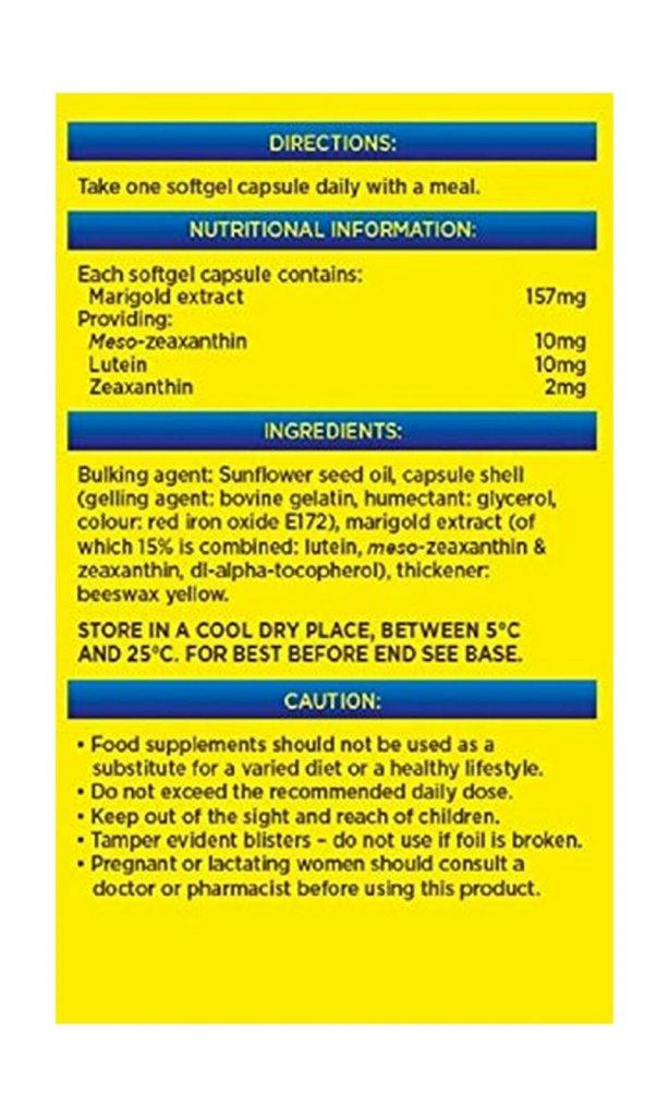 lutein och zeaxantin